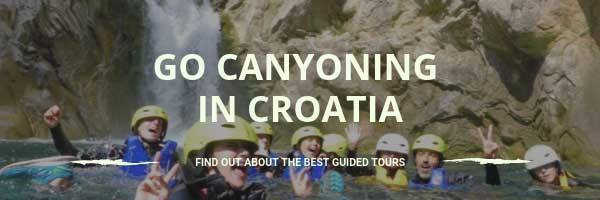 Go canyoning in Croatia