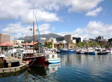 Hobart, Tasmania. Flickr/Andrea Schaffer