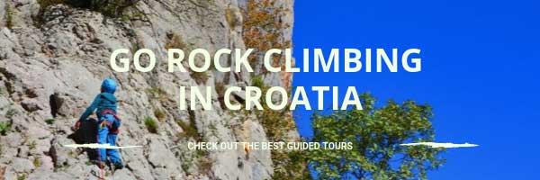 Find a rock climbing guide in Croatia