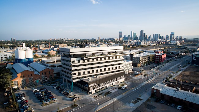 The Source Hotel & Market Hall in the RiNo district of Denver. Photo courtesy of Werk Creative