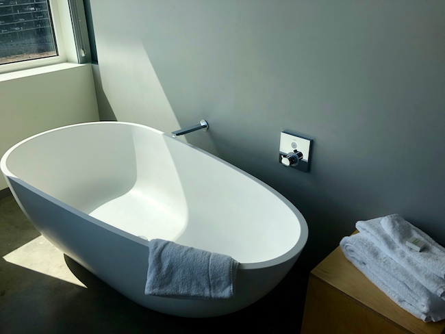 Tub in the king suite. Photo by Claudia Carbone