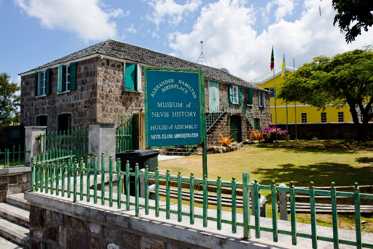 The Charlestown Nevis History Museum Celebrates Hamilton, the Man, as well as his Birthplace – Nevis. Photo by Fyllis Hockman
