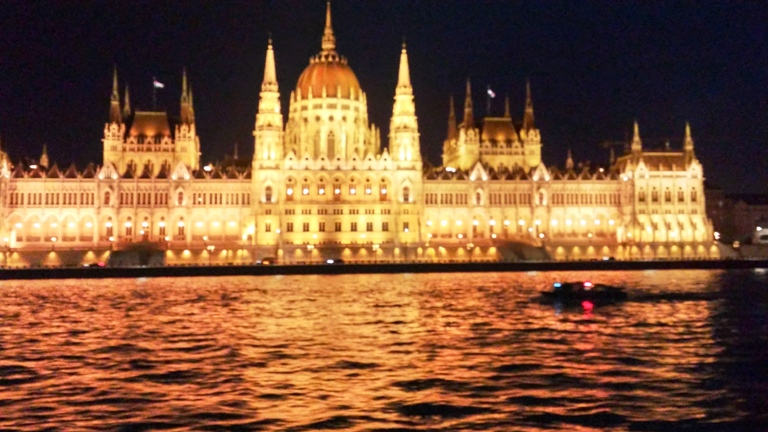 Budapest Skyline on the Grand Circle River Cruise. Photo by Fyllis Hockman