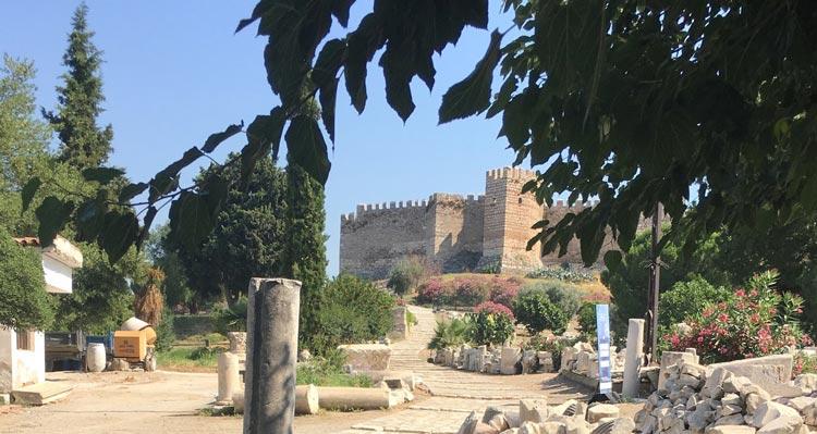 Ayasoluk castle