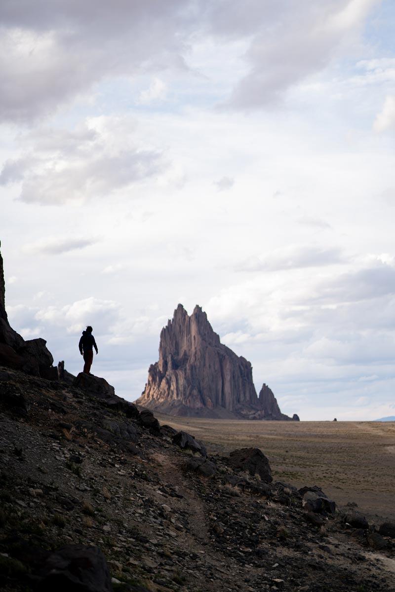 Shiprock New Mexico. Photo by Francesco Camillo.