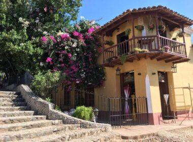 Trinidad Colonial Restaurant in Cuba