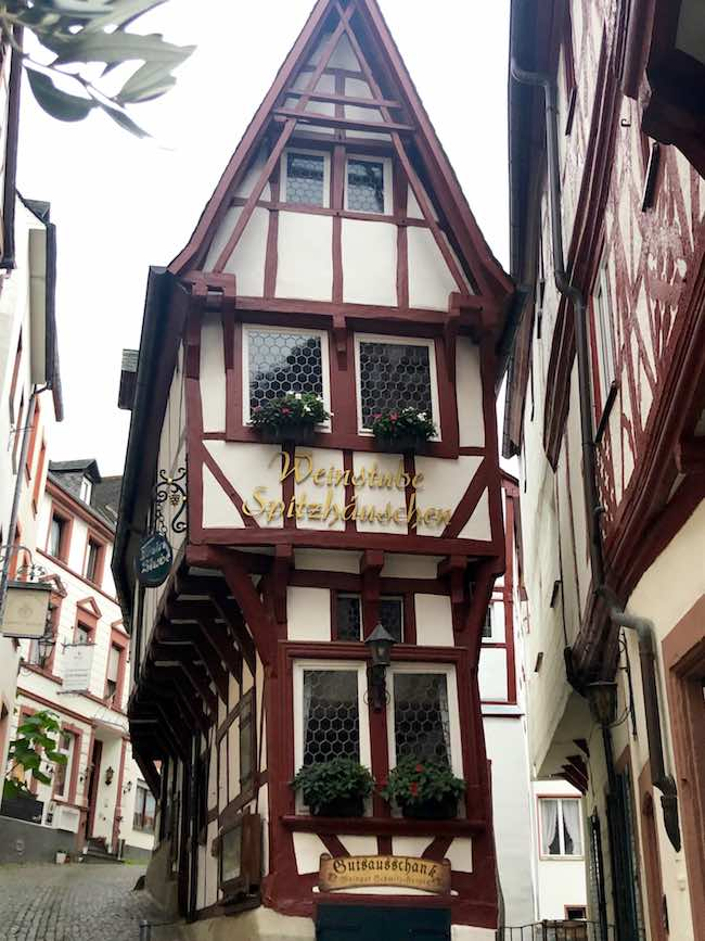 """Pointed House"" in Bernkastel. Photo by Claudia Carbone"