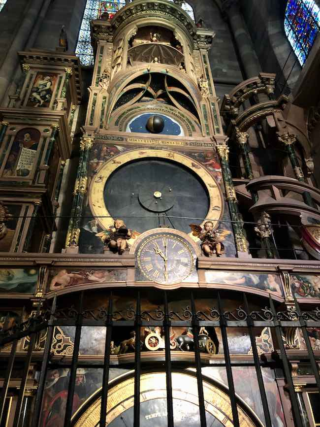 Famous astronomical clock whose parts have been moving on time for hundreds of years. Photo by Claudia Carbone