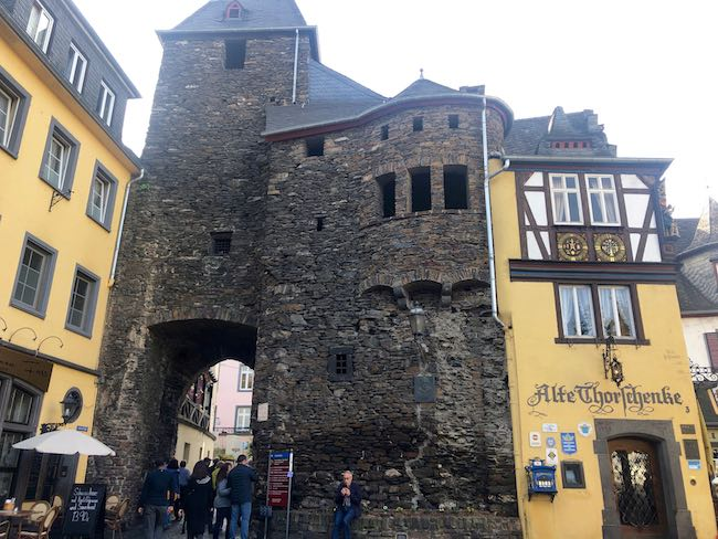 Oldest building in Cochem. Photo by Claudia Carbone