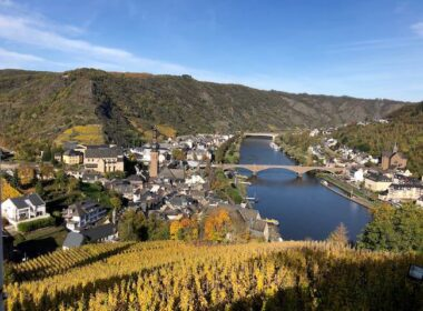 Vineyards in the Moselle Valley. Photo by Claudia Carbone