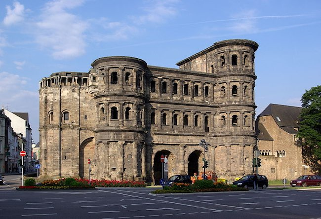 Trier's Porta Nigra. Photo courtesy of Wikimedia Commons