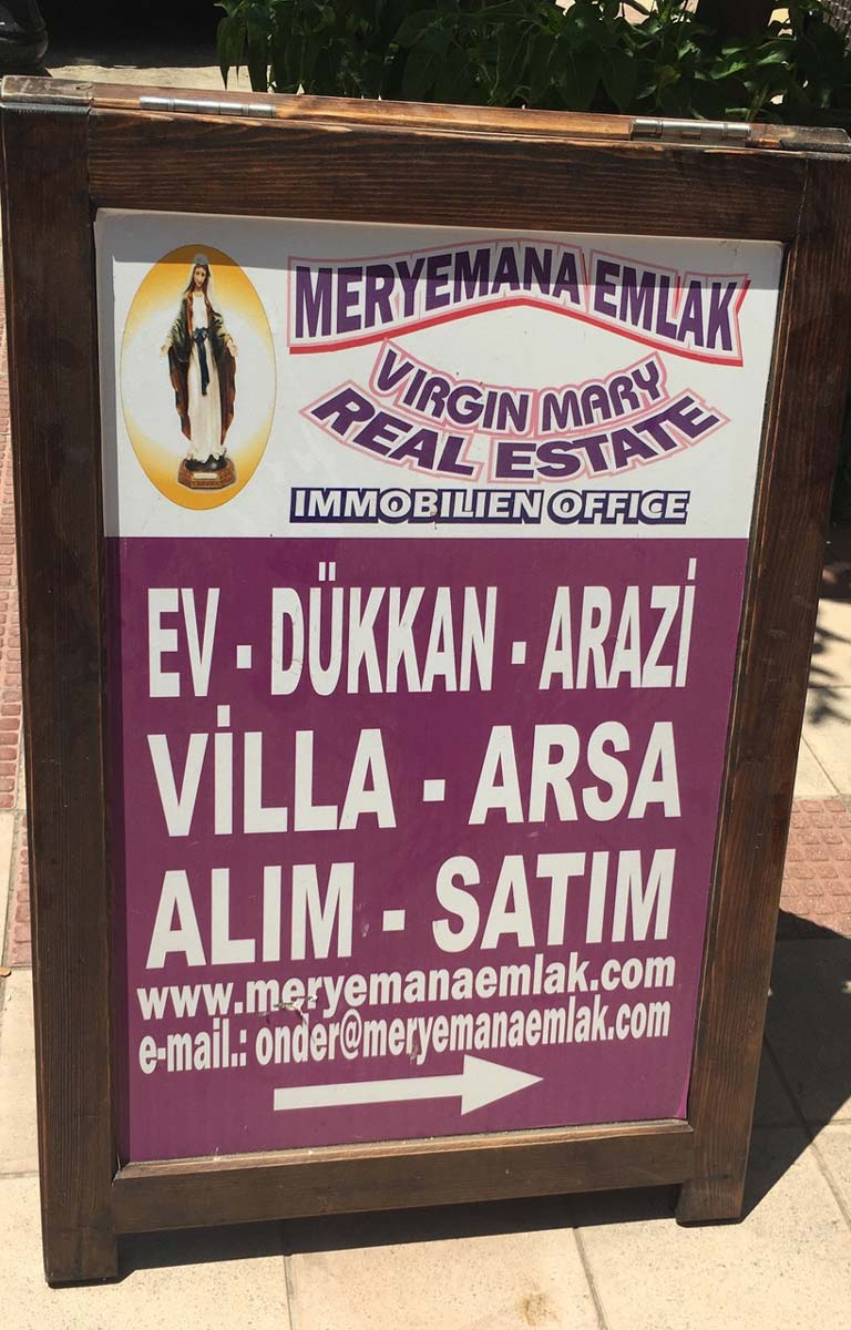 Virgin Mary Real Estate