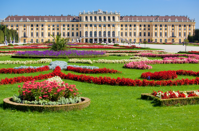 Schonbrunn Palace in Vienna, one architectural gem among many that line the banks of the Danube River. Photo by Chaoss/Dreamstime.com