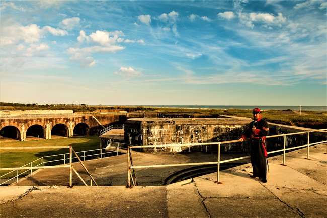 Fort Morgan Combines an Interesting History and Equally Interesting Museum. Photo by Gulf Shores & Orange Beach Tourism