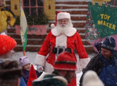 Open from June to December, Santa Claus is ready for visitors at the North Pole New York.