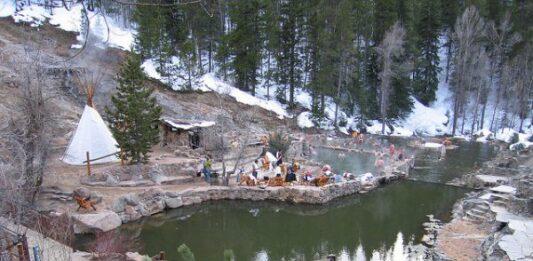 Following the Colorado Hot Springs Loop