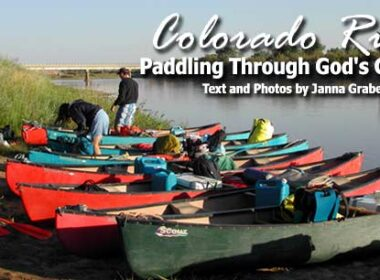 Canoe trip in Colorado. Photo by Janna Graber