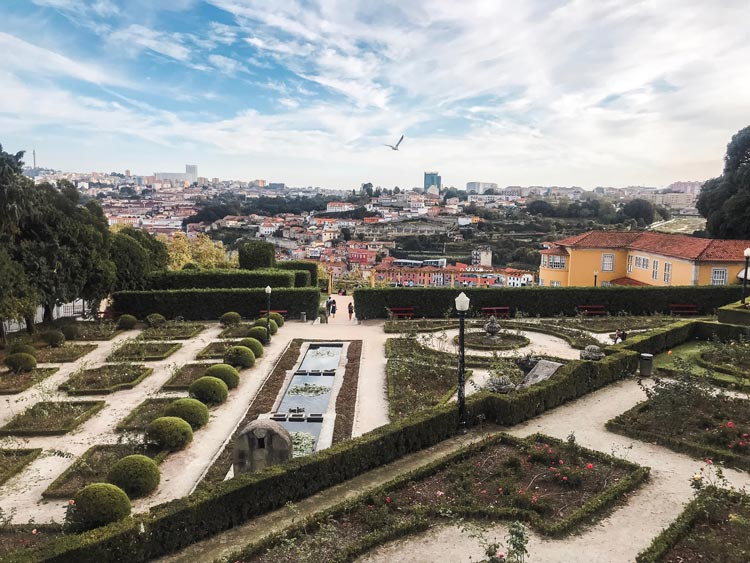 Jardins do Cristal in Porto, Portugal