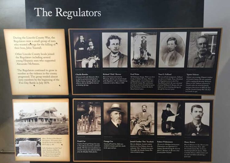 An exhibit at Lincoln County Historic Site. Photo by Rich Grant