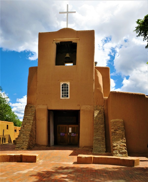 The San Miguel Mission in Santa Fe, NM Dates Back to 1610. Photo by Victor Block