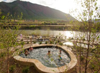 Iron Mountain Hot Springs are among the top hot springs in Colorado
