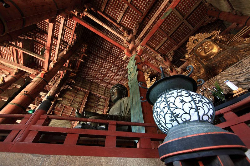 "Great Buddha of Todaiji Temple. Photo from <a href=""https://www.flickr.com/photos/tanaka_juuyoh/5196207349/in/photolist-7t6ei-24BJwGH-agp8YL-awQF4n-awQFQ6-awToJj-8UZqcP-apqTiZ-8V3tJU-8ULAGu-8UMZio-awTpv5-8ULAPw-8UJWep-8V3t1d-7t6tX-8iYmmo-8VhNKN-awTp33-8VhPNj-8VaVpT-awQEzB-7t6r4-EuA8GQ-kpNQr-TK6JMW-gk1z34-kpR7m-kpLbL-kpQ2i-27pTVRu-2euqgUg-TK6JL3-2fToXWV-2fToXYt-awQEQn"" target=""_blank"" rel=""noopener noreferrer"">Flickr</a>"