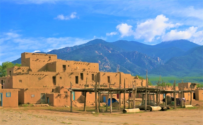 Taos Pueblo. Photo by Victor Block