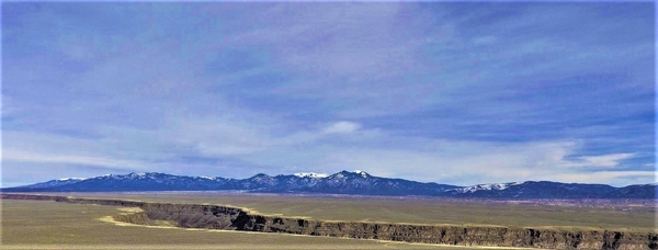 The Scenic Setting of Taos, New Mexico. Photo by Visit Taos