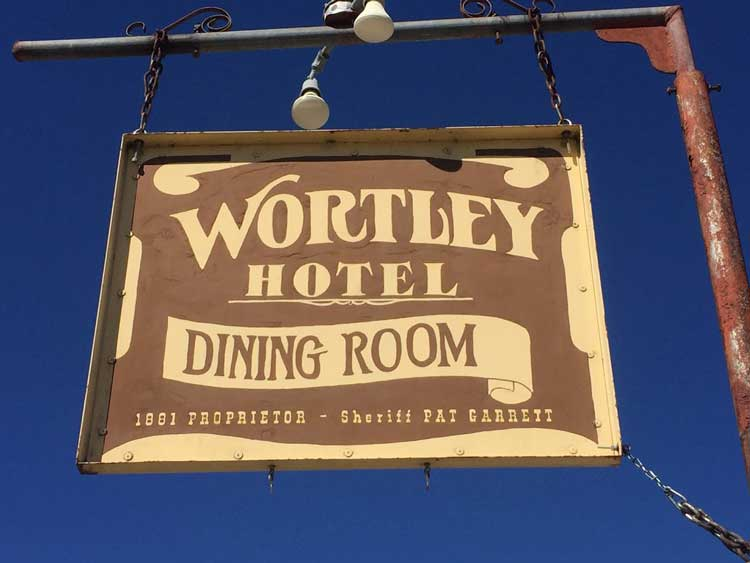 Wortley Hotel was once owned by Sheriff Pat Garrett. Photo by Rich Grant
