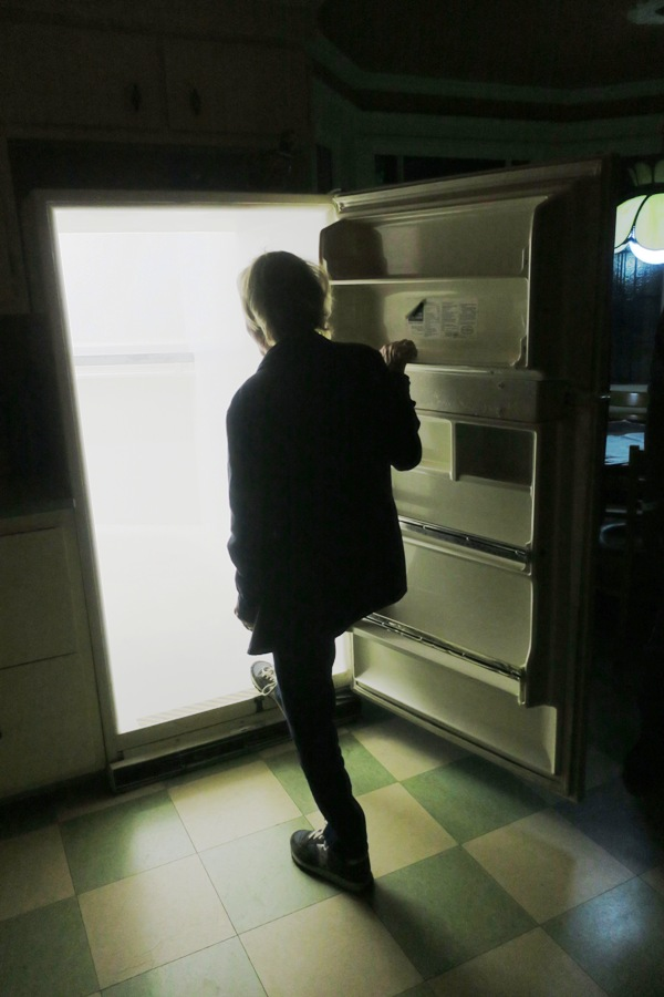 Walking through a Refrigerator Seems Normal at Meow Wolf in Santa Fe. Photo by Victor Block