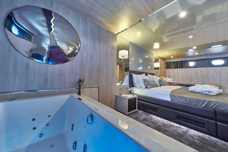 Cabin in a Croatian yacht charter
