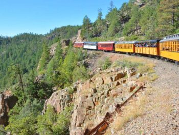 Durango-Silverton Train. Flickr/Mike McBey