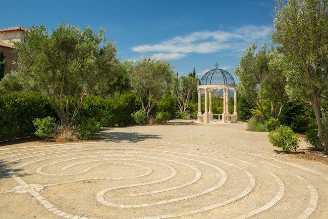 Sonic labyrinth at Allegretto. Photo courtesy of Allegretto Vineyard Resort