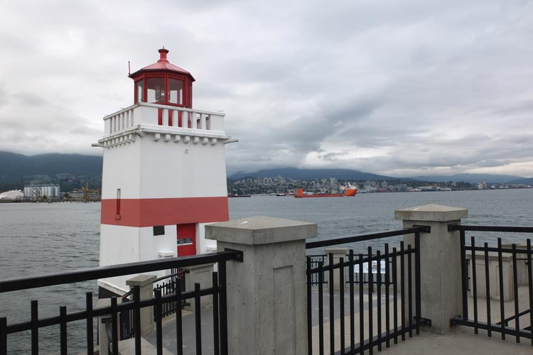 Brockton Point Lighthouse in Vancouver