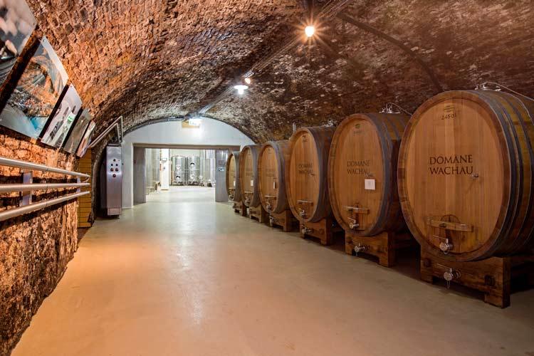 The wine cellars at Domäne-Wachau. Photo by Domäne-Wachau