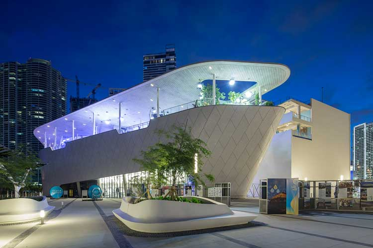 The Frost Science Museum in Miami, Florida. Photo by Robin Hill