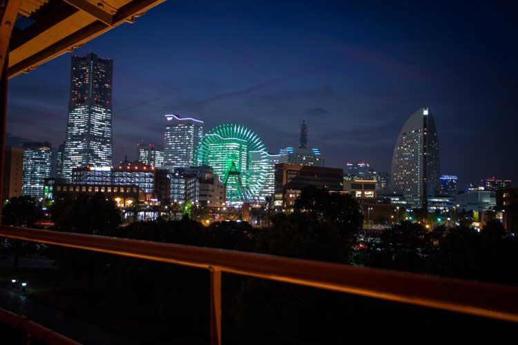 Night view of Yokohama. Photo by Fumiya Otsubo