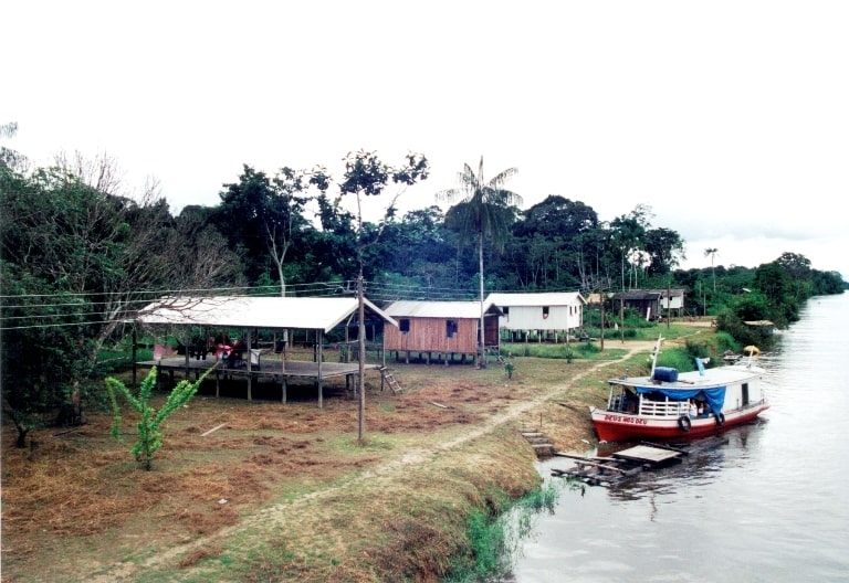Local Villages Along the River Provide Lifestyle Diversity. Photo by Amazon Nature Tours