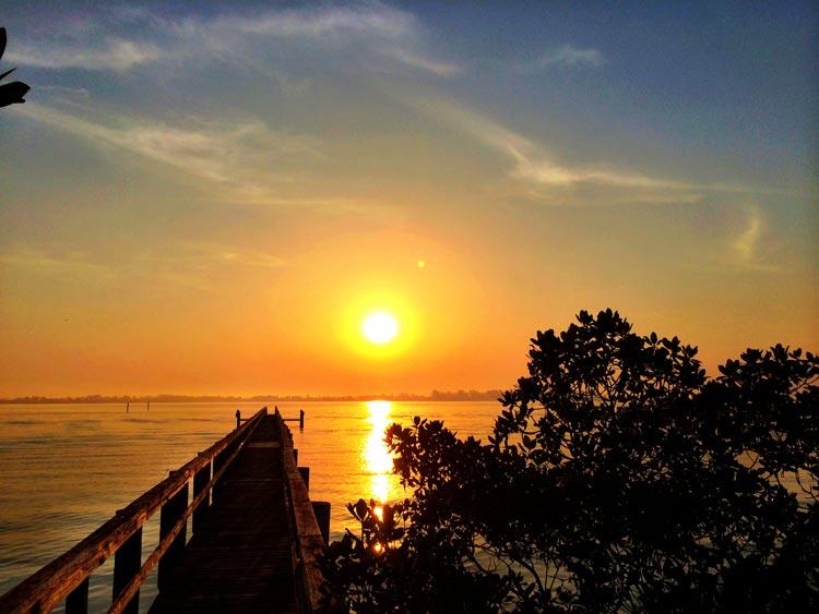 Sunrise on Gasparilla