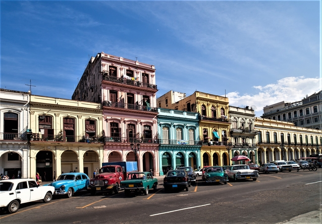 A number of buildings in Havana, Cuba have been restored to their former elegance. Photo by Nobohh/Dreamstime.com