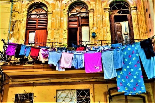 Some old colonial-era buildings in Havana show their age. Photo by Roxana Gonazlez/Dreamstime.com