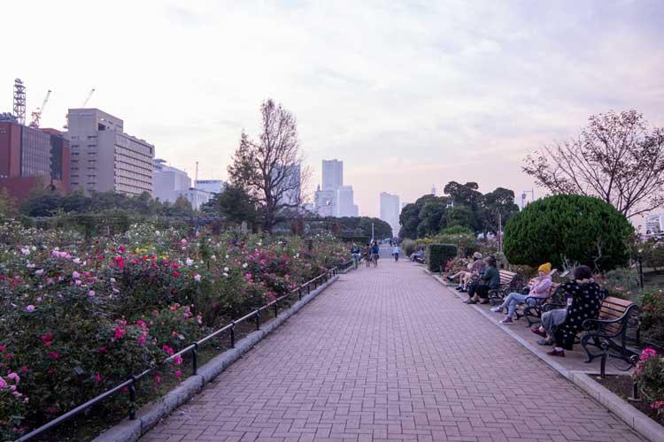 Yamashita Park in Japan