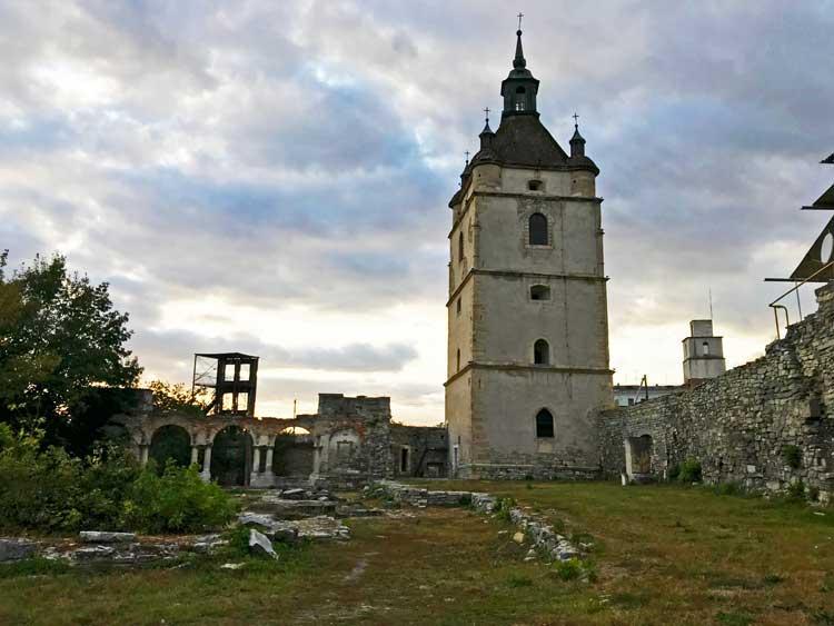 St. Nicolas Armenian Church ruins in Kamianets-Podilskyi. Photo by Amanda Renna