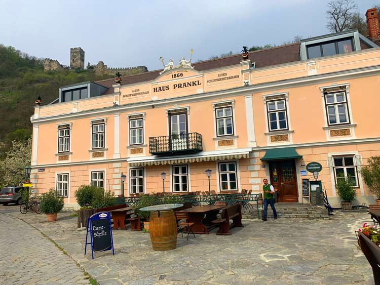 Haus Prankl is a top restaurant in the Wachau Valley.