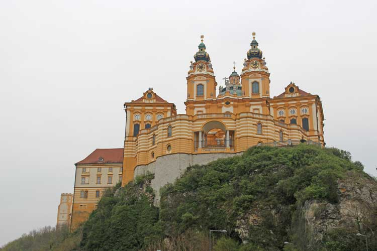 Visit the Melk Abbey in Austria
