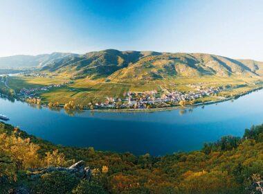 The Danube runs through Austria's Wachau Valley. Photo by Domane Wachau