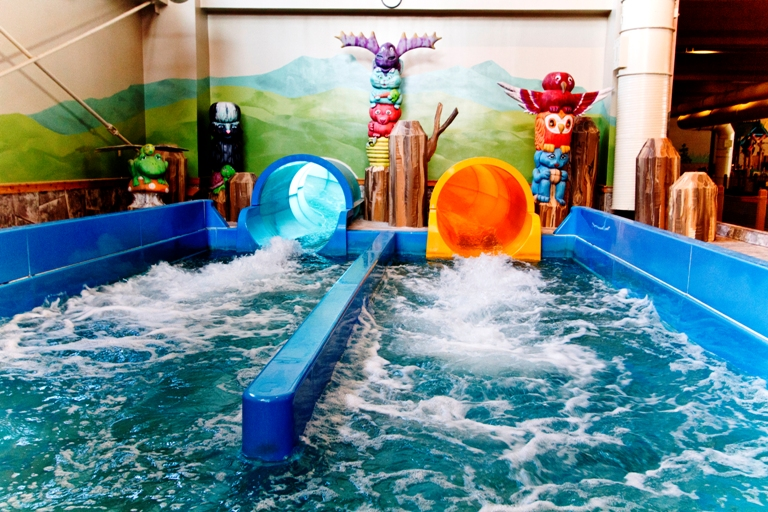 Every slide at Great Wolf Lodge offers its own separate thrill. Photo by Great Wolf Lodge