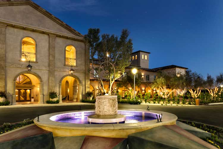 Allegretto Resort in Paso Robles. Photo by Allegretto Resort