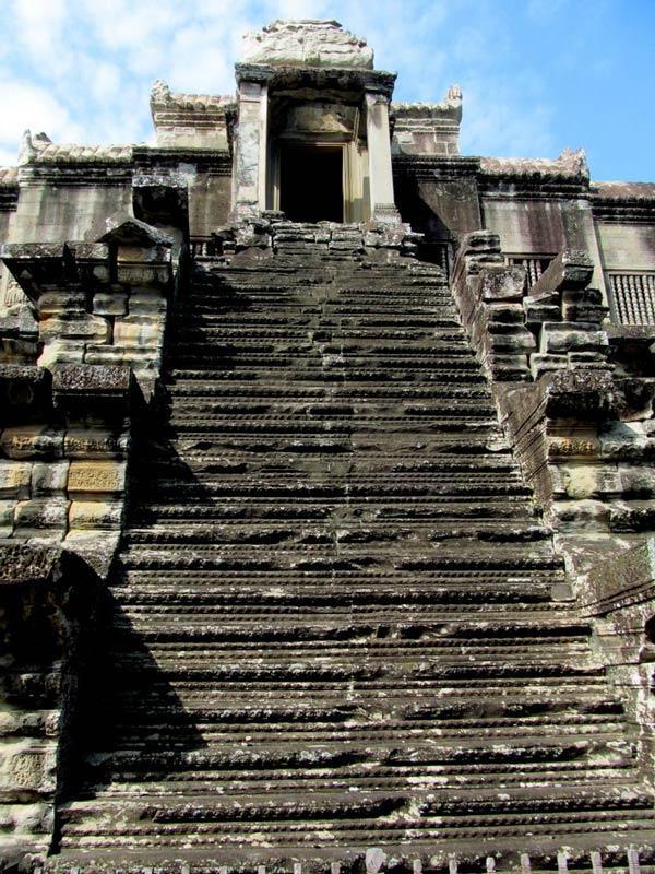 Angkor's narrow