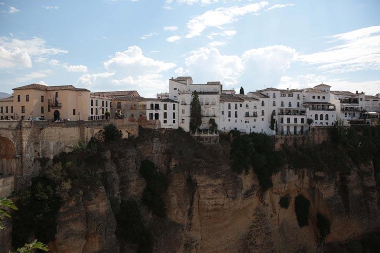 Cliff Dwellers in Ronda, Spain